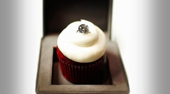 Most Expensive Cupcakes in the World Top 10 2.Sparkling Red Velvet Cupcake - $55.000
