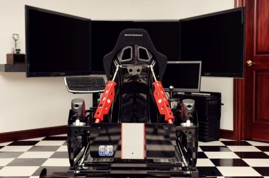 Most Expensive Driving Simulators  Top 10 9. SimXperience Stage 5 Full Motion Racing Simulator - $22.500