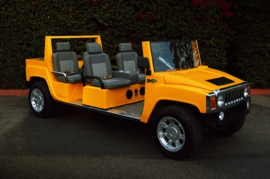 Most-Expensive-Golf-Carts-Top-10-4.-Hummer-6-Pack-Limo-H3-22.600