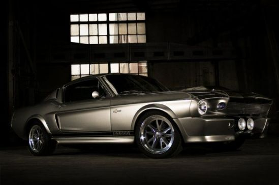 Most Memorable Movie Cars  Top 10 3. 1967 Shelby GT500 (Eleanor) - Gone in 60 Seconds