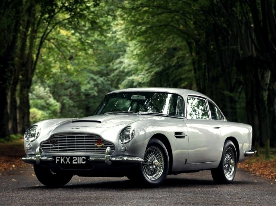 Most Memorable Movie Cars  Top 10 4. 1963 Aston Martin DB5 (James Bond's Aston Martin) - Goldfinger