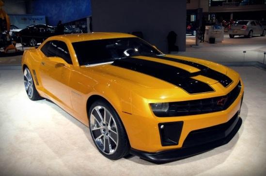 Most Memorable Movie Cars  Top 10 5. 1976 Chevrolet Camaro Z28 2006 Chevrolet Camaro (Bumblebee) – Transformers